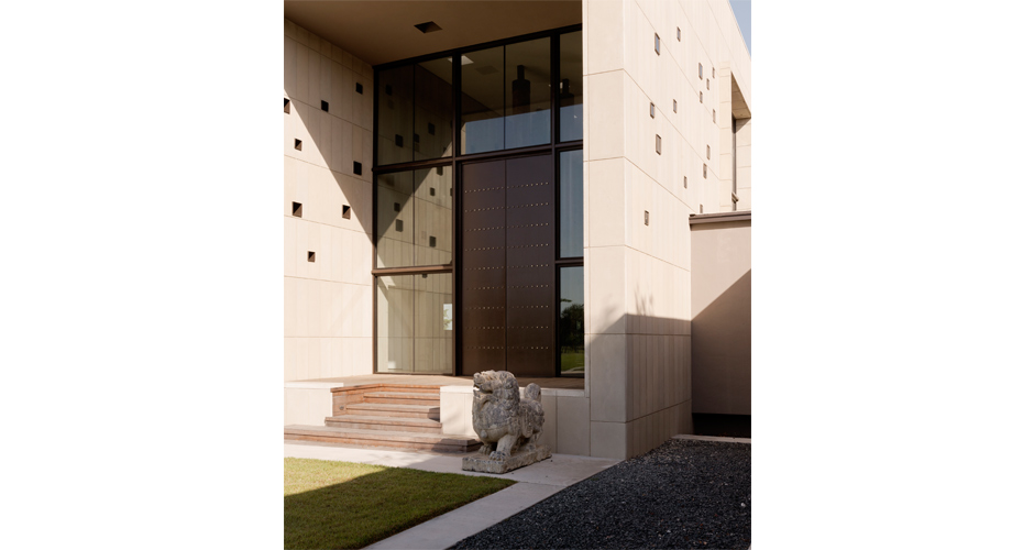 The 3 Courtyard House