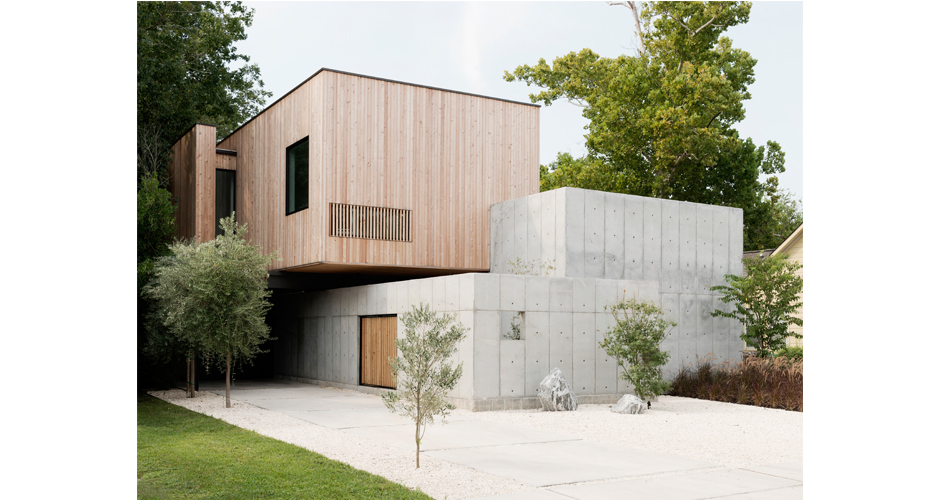 charming concrete homes houston #2: Concrete Box House; Concrete Box House ...